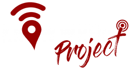 know where project logo white